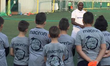 Επίσκεψη Ογκουνσότο στις ακαδημίες Μακεδονικού - Νέα του ομάδα το... Survivor!