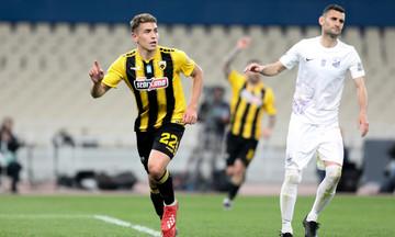 ΑΕΚ - Λαμία: Το γκολ του Πόνσε για το 1-0 (vid)