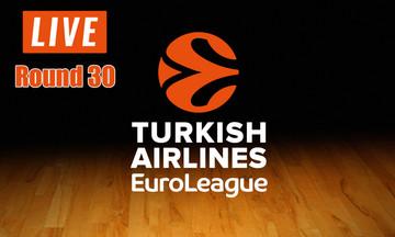 LIVE: Η 30η αγωνιστική της EuroLeague (20:00)