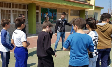 Επίσκεψη του ΟΦΗ σε σχολεία της Ν. Αλικαρνασσού