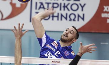 Ο Χήρας αναδείχθηκε MVP της τελευταίας αγωνιστικής στη Volley League