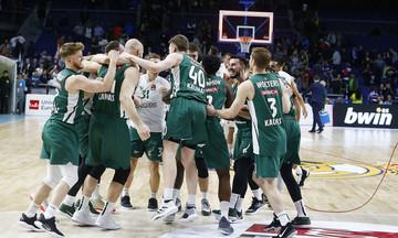Ρεάλ-Ζαλγκίρις 86-93: Νίκη στη Μαδρίτη και πρόκριση οι Λιθουανοί! (vid)