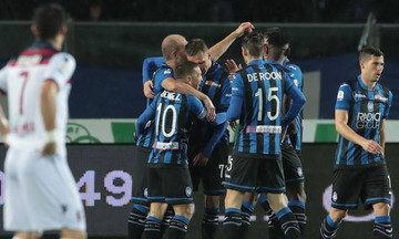 Serie A: «Τεσσάρα» για Αταλάντα και Σασουόλο (αποτελέσματα, βαθμολογία)