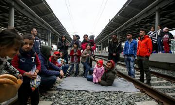 Σταθμός Λαρίσης: Κατάληψη από πρόσφυγες - Δεν εκτελούνται δρομολόγια