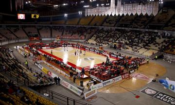 Μόνο 2.500 οπαδοί του Ολυμπιακού στο ΣΕΦ