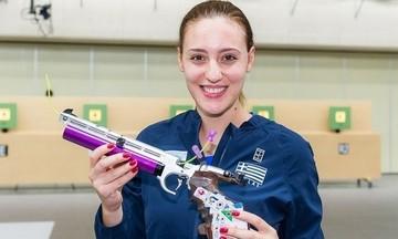 Πρώτη η Κορακάκη στο αεροβόλο πιστόλι στους Πανελλήνιους αγώνες
