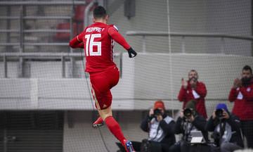 Παναιτωλικός - Ολυμπιακός: Το γκολ του Μασούρα για το 0-1 (vid)