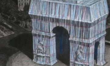 Ο καλλιτέχνης Christo «ντύνει» την Αψίδα του Θριάμβου