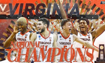 Πρωταθλήτρια στο NCAA η Βιρτζίνια