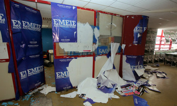 Επεισόδια στο Πάντειο: «Ντου» αντιεξουσιαστών στις φοιτητικές εκλογές