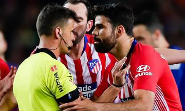 La Liga: Τέλος η σεζόν για τον Ντιέγκο Κόστα - Τιμωρήθηκε με 8 αγωνιστικές!