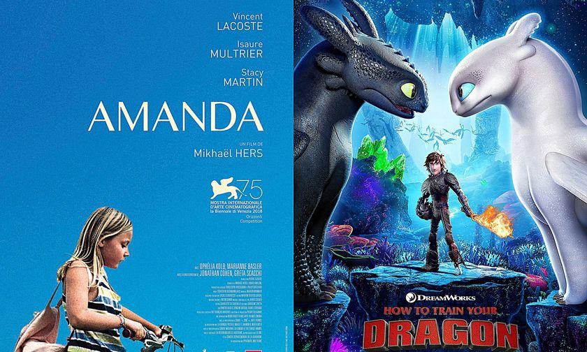 Νέες ταινίες: Αμάντα, Πώς να Εκπαιδεύσετε το Δράκο σας 3