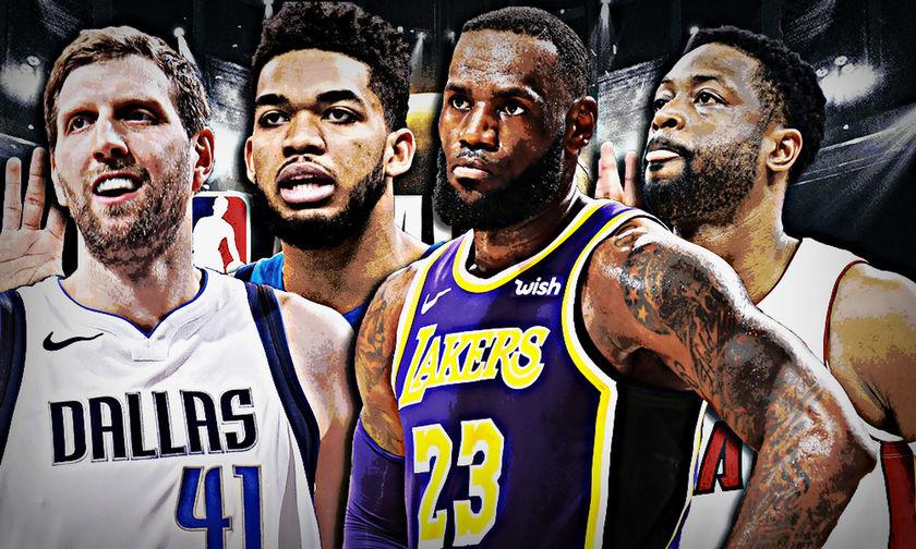NBA Playoffs 2019: Οι αστέρες που θα λείψουν