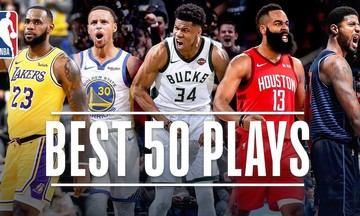 NBA: Οι εντυπωσιακές στιγμές της regular season  (vid)