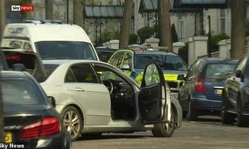 Περίεργο ατύχημα κοντά στην ελληνική πρεσβεία του Λονδίνου