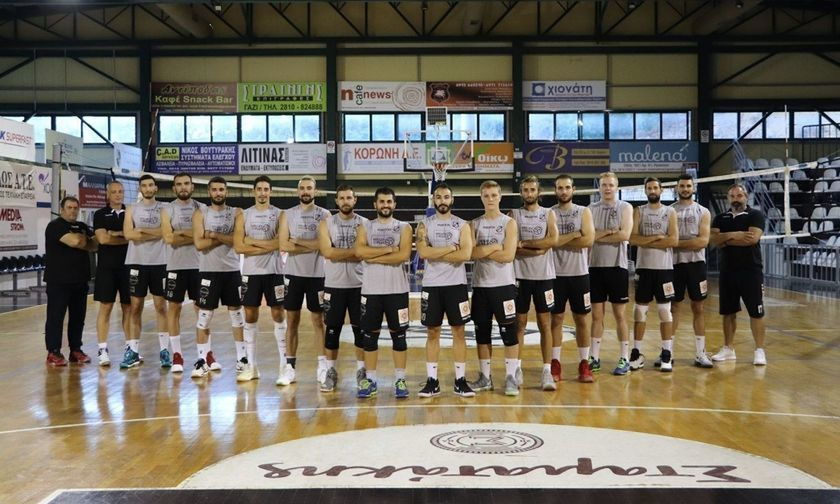 LIVE Streaming: OΦΗ - Κέρκης Σάμου για την άνοδο στη Volley League ανδρών (18:00)