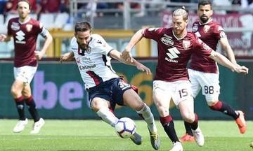 Τορίνο-Κάλιαρι 1-1: Aπομακρύνεται η Ευρώπη για Τορίνο (vid)