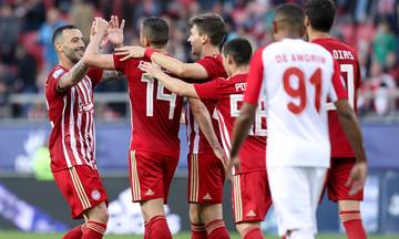 VIDEO: Tα γκολ του αγώνα Ολυμπιακός - Ξάνθη 4-0