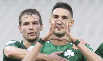 Παναθηναϊκός-ΟΦΗ: Γκολ με πέναλτι ο Μακέντα για το 1-0