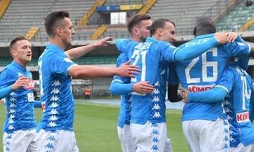 Serie A: Η Νάπολι έριξε την Κιέβο (αποτελέσματα, βαθμολογία)