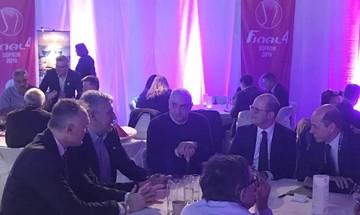 Ολυμπιακός: Λεριώτης και Φασούλας συναντήθηκαν με Ζαγκλή, Ντεμιρέλ και Νόβακ