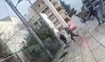 Περιστέρι:  Επίθεση μαθητών-οπαδών σε Λύκειο (pics)