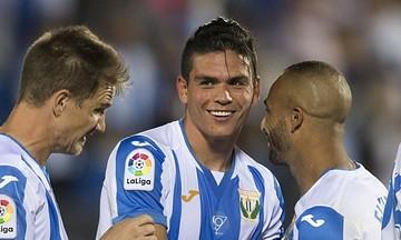 Λεγανές - Ρεάλ Μαδρίτης: Το γκολ του Σίλβα για το 1-0 (vid)