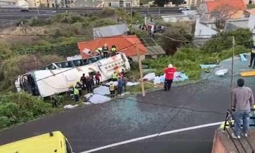 Τραγωδία στην Πορτογαλία: Πολύνεκρο δυστύχημα με τουριστικό λεωφορείο