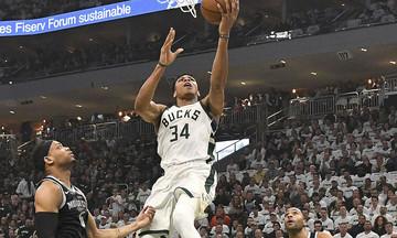 Διπλός Αντετοκούνμπο στο Top-5 του NBA (vid)