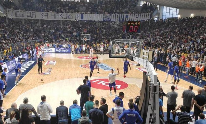 O γιος υπουργού του Μαυροβουνίου έφτυσε παίκτες του Ερυθρού Αστέρα (vid)