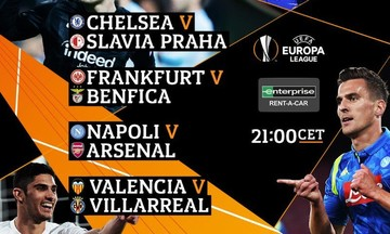 Live: Προημιτελικά Europa League (22.00)