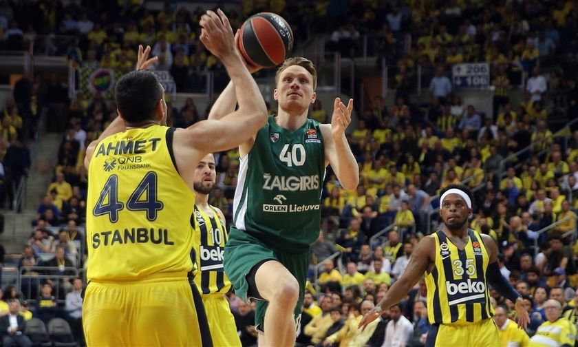 Εuroleague play offs: Τα highlights από τις μεγάλες νίκες Ζαλγκίρις και Μπασκόνια (vid)