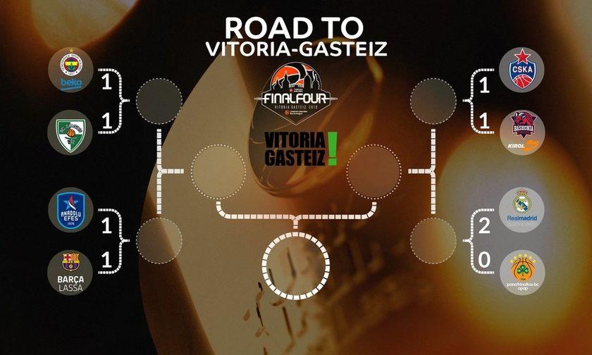 Το πανόραμα στα playoffs της EuroLeague: Η εβδομάδα των break!