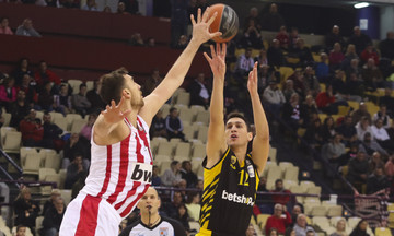 Basket League: Με Τσέρι στο ΟΑΚΑ ο Ολυμπιακός κόντρα στην ΑΕΚ