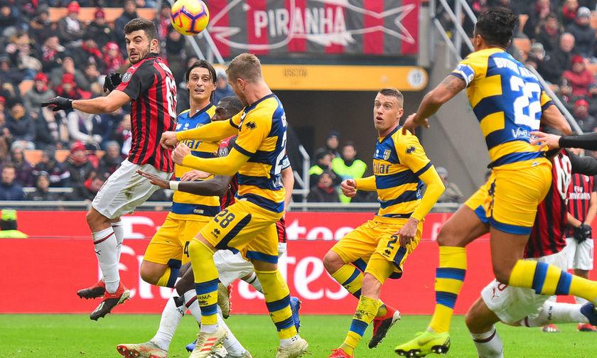 Η Μίλαν 1-1 με την Πάρμα έχασε και άλλο έδαφος για το Champions League