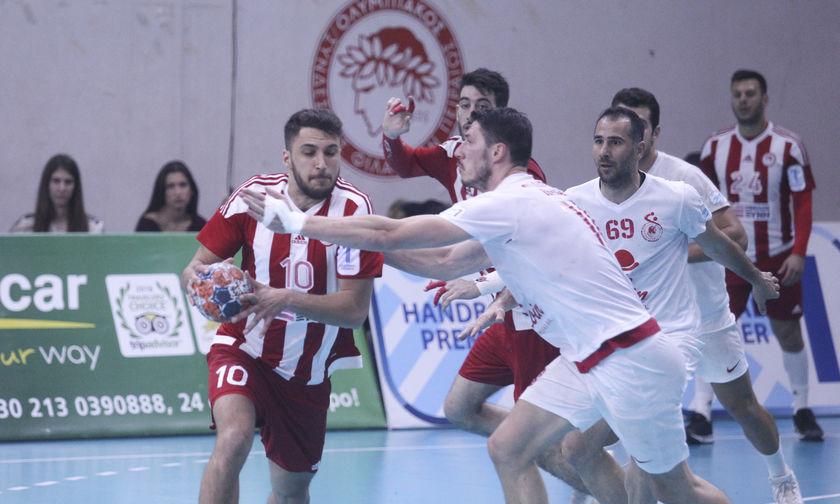 Handball Premier: Στα προημιτελικά με Δράμα ο Ολυμπιακός!