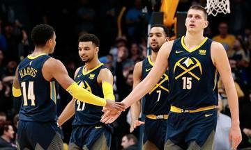 NBA: Ισοφάρισαν οι Νάγκετς, μεγάλο διπλό οι Σίξερς (vid)