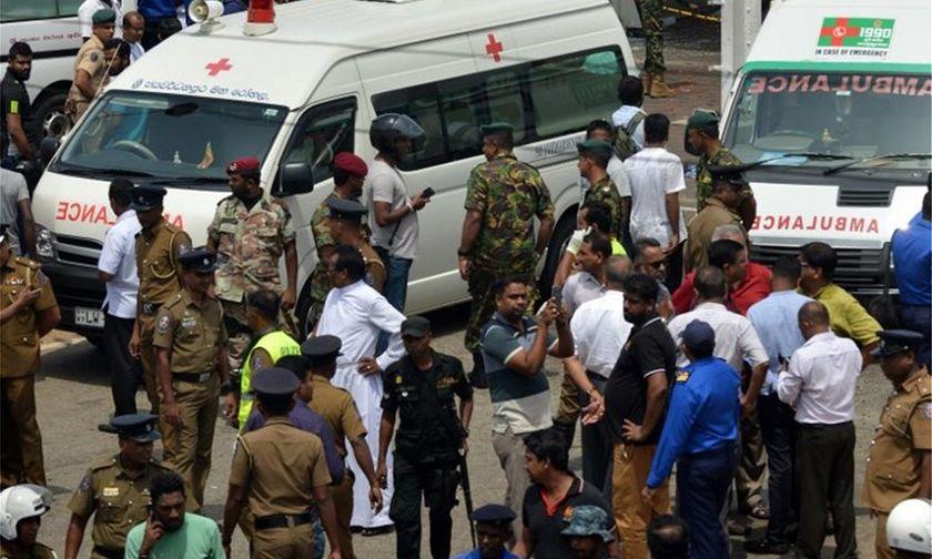 Στους 156 οι νεκροί στη Σρι Λάνκα στις πολύνεκρες εκρήξεις σε ναούς και ξενοδοχεία