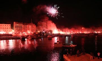 Copy paste από τον Ολυμπιακό το πάρτι του ΠΑΟΚ στη Θεσσαλονίκη (vid)
