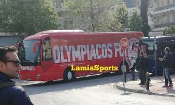 Στο ΔΑΚ Λαμίας ο Ολυμπιακός (pics)