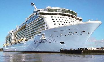 Στον Πειραιά το μεγαλύτερο κρουαζιερόπλοιο του κόσμου (vid)