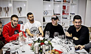 Το τραπέζι του Μαρτίνς στους ποδοσφαιριστές του Ολυμπιακού