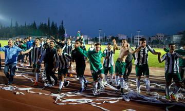 Ο Αχαρναϊκός πανηγυρίζει την κατάκτηση του Κυπέλλου ΕΠΣΑΝΑ (pics)