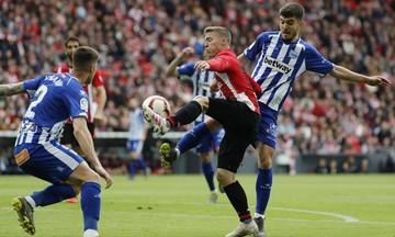 La Liga: Ισόπαλες 1-1 Μπιλμπάο και Αλαβές (highlights)