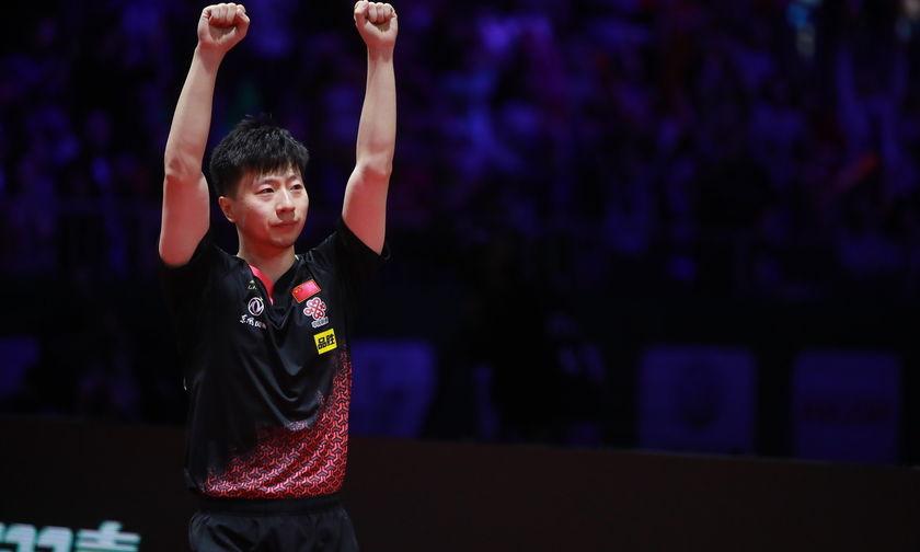 Πινγκ πονγκ: Ο Κινέζος Μα Λονγκ ξανά παγκόσμιος πρωταθλητής