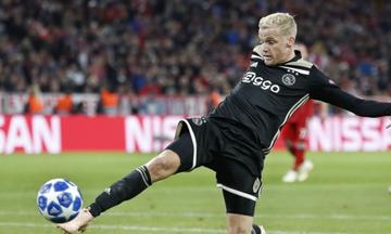 Τότεναμ - Αγιαξ 0-1: Το γκολ του Ντε Μπέεκ (vid)