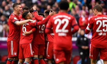 Bundesliga: Βήμα τίτλου για Μπάγερν με διαιτητική... χείρα βοηθείας (highlights)