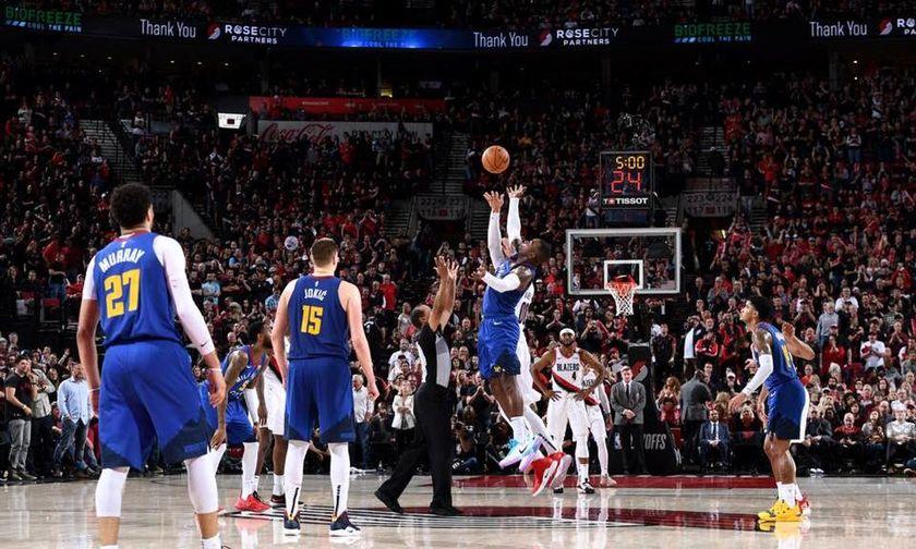NBA: Έκαναν το break Ράπτορς και Νάγκετς (vid)