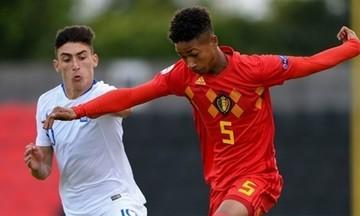 Η εθνική Παίδων ηττήθηκε 3-0 από το Βέλγιο στο Euro2019