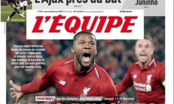 Η υπόκλιση της Equipe στο μεγαλείο της Λίβερπουλ
